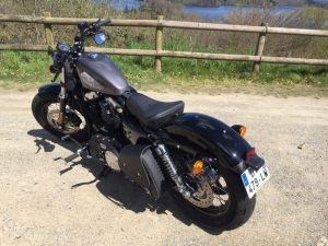 Sacoches Myleatherbikes Harley Sportster Forty Eight (4)